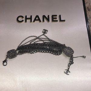 CHANEL Jewelry - Chanel gun metal bracelet
